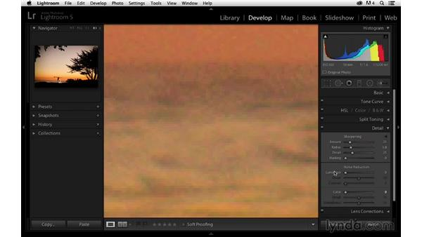 Sharpening the details: Enhancing a Sunset Photograph with Lightroom and Photoshop