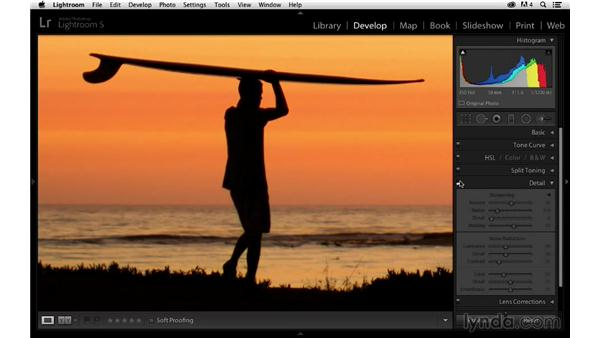 Reducing unwanted color and luminance noise: Enhancing a Sunset Photograph with Lightroom and Photoshop