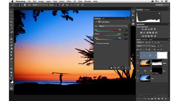 Enhancing warm sunset colors: Enhancing a Sunset Photograph with Lightroom and Photoshop