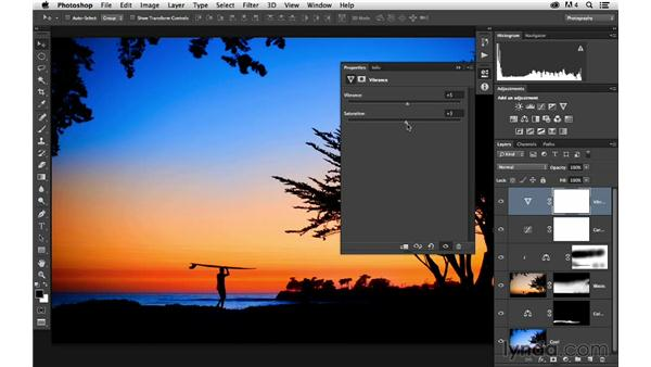 Fine-tuning the colors: Enhancing a Sunset Photograph with Lightroom and Photoshop