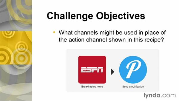 Challenge: Identify alternative channels: Up and Running with IFTTT