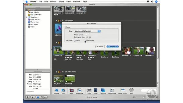 : iPhoto 5 Essential Training