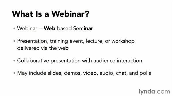 What is a webinar?: Webinar Fundamentals