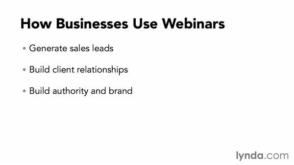 Understanding how businesses use webinars: Webinar Fundamentals