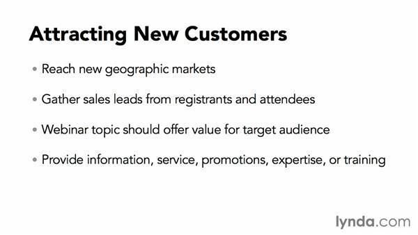 Attracting new customers with webinars: Webinar Fundamentals