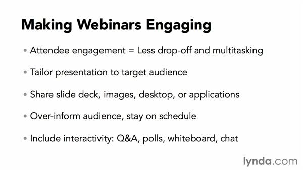 Making webinars engaging: Webinar Fundamentals