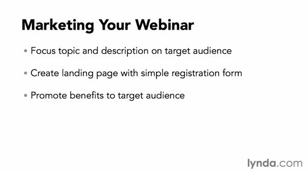 Marketing your webinar: Webinar Fundamentals