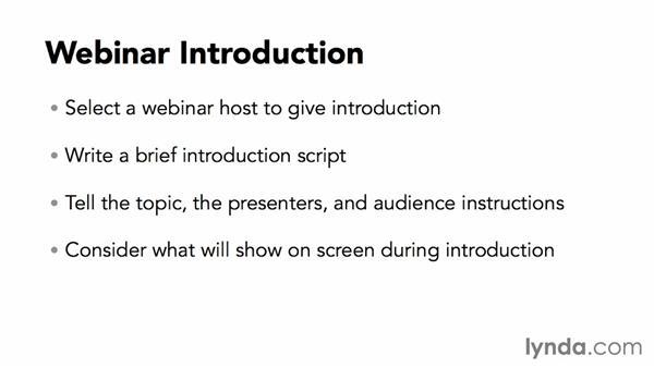 Introducing the webinar: Webinar Fundamentals