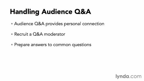 Handling audience Q&A: Webinar Fundamentals