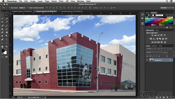 Identifying perspectives: Working with Perspective in Photoshop