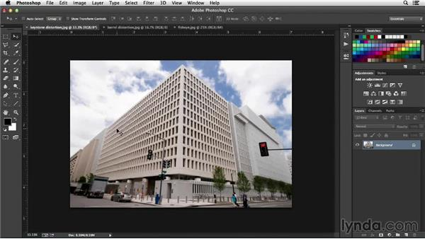 Types of distortions: Working with Perspective in Photoshop