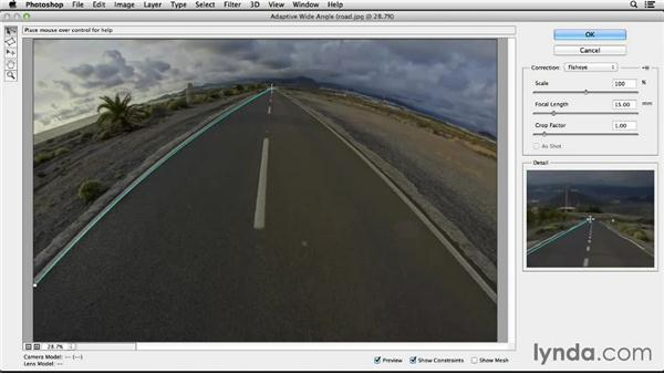 Adaptive Wide Angle: Working with Perspective in Photoshop