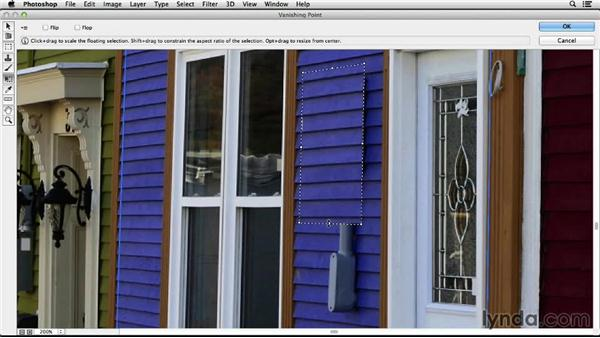 Manual repairs: Working with Perspective in Photoshop