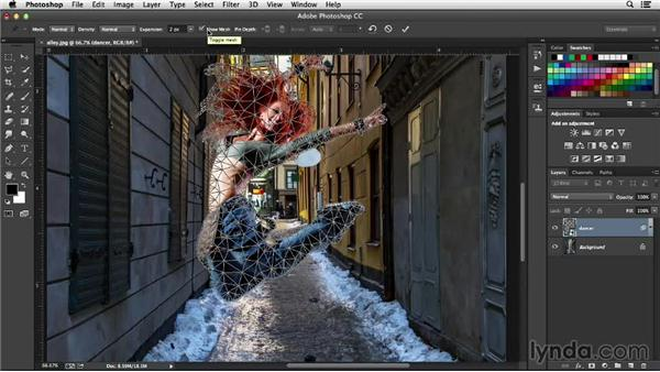 Puppet Warp: Working with Perspective in Photoshop