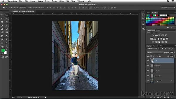 Vanishing Point: Working with Perspective in Photoshop