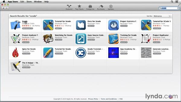 Finding and installing Xcode: Programming for Non-Programmers: iOS 7