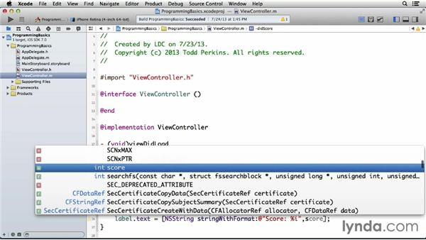 Using functions, methods, and selectors: Programming for Non-Programmers: iOS 7