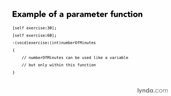 Understanding parameter functions: Programming for Non-Programmers: iOS 7