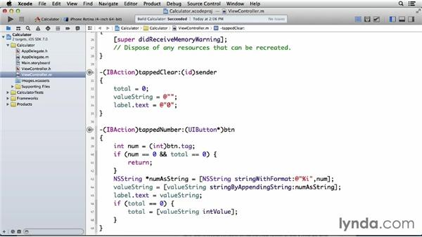 Making the Clear button clear all values: Programming for Non-Programmers: iOS 7