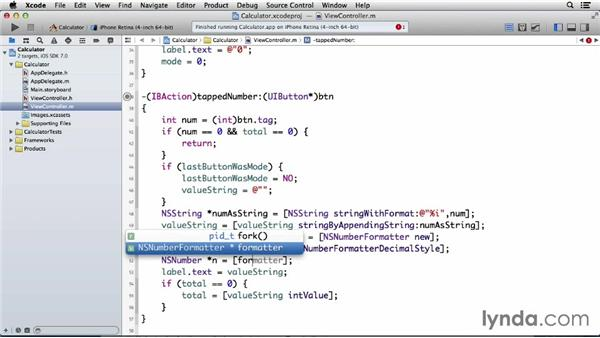 Formatting a number with commas: Programming for Non-Programmers: iOS 7