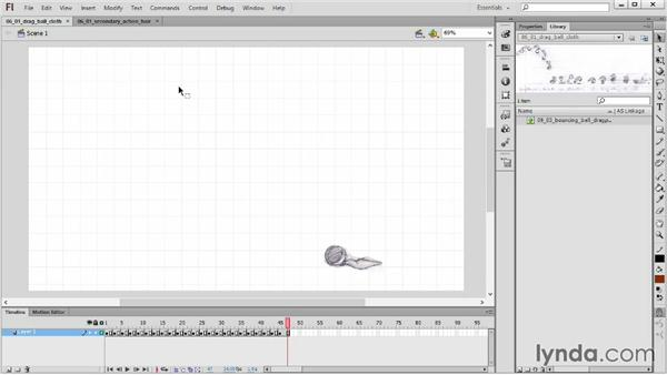 Understanding primary and secondary action: 2D Animation Principles