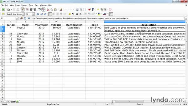 Creating a spreadsheet in the OpenDocument format: Exporting Data to Files with PHP