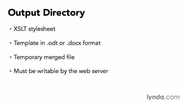 Preparing a directory to generate the output: Exporting Data to Files with PHP
