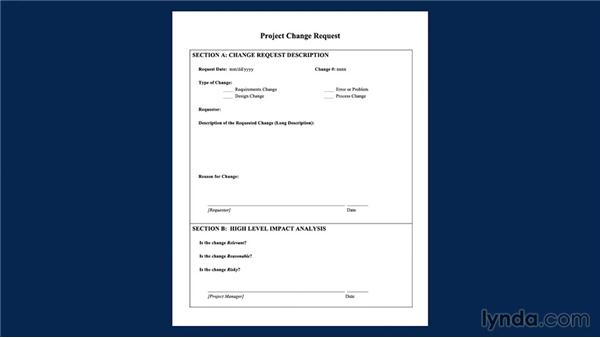 Using the exercise files: Managing Project Change