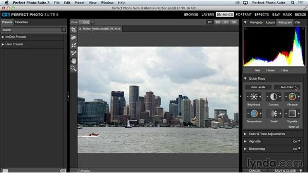 Quick fixes: Up and Running with Perfect Photo Suite 8