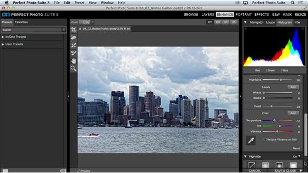 Detailed adjustments: Up and Running with Perfect Photo Suite 8
