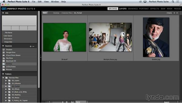 Saving and using custom presets: Up and Running with Perfect Photo Suite 8