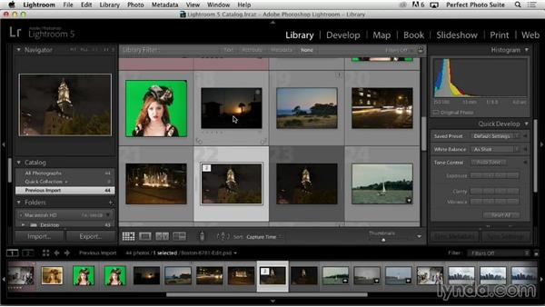Lightroom: Up and Running with Perfect Photo Suite 8
