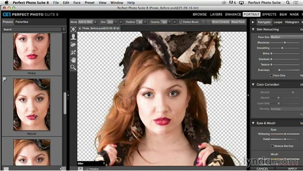 Solution: Creating an old-looking image from a new one: Up and Running with Perfect Photo Suite 8