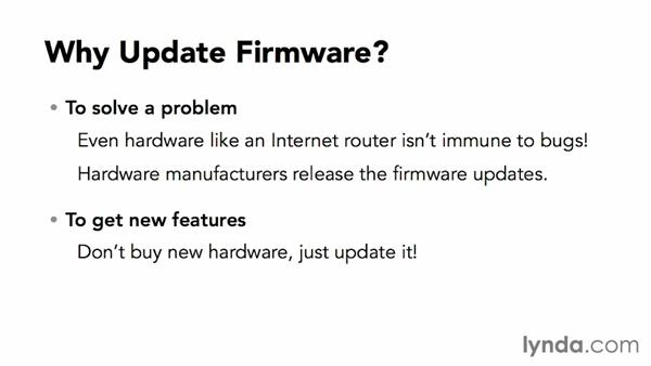 How to do a firmware update: Monday Productivity Pointers