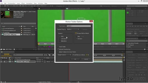 Combining multiple tracks: VFX Techniques: Digital Set Extension