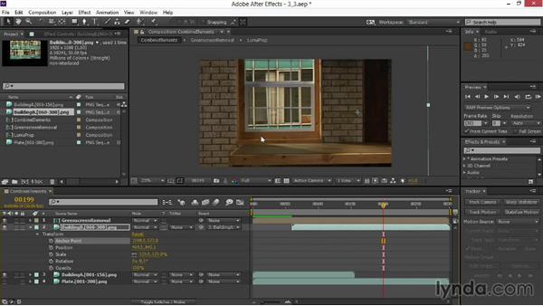 Parenting additional layers: VFX Techniques: Digital Set Extension