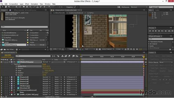 Building a new window: VFX Techniques: Digital Set Extension