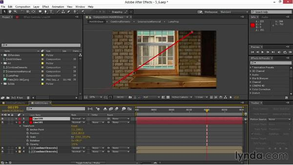 Determining perspective shift: VFX Techniques: Digital Set Extension