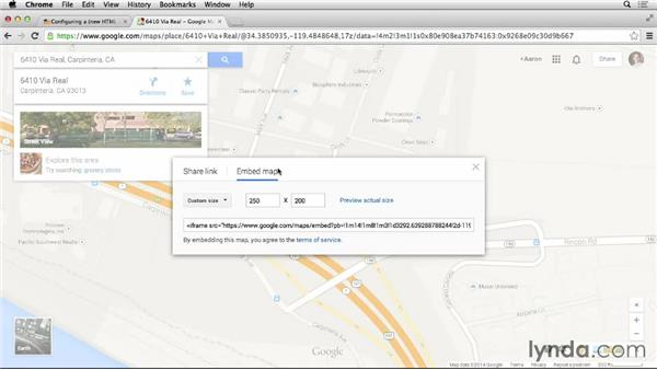 Adding a Google Map: Moodle 2.6 Essential Training