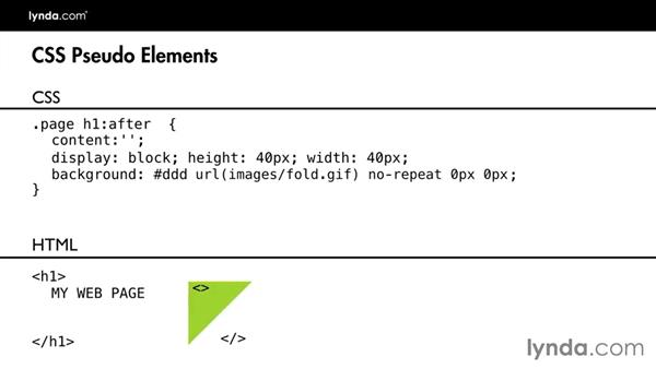 Preview the final project: Design the Web: Graphics and CSS Pseudo-Elements