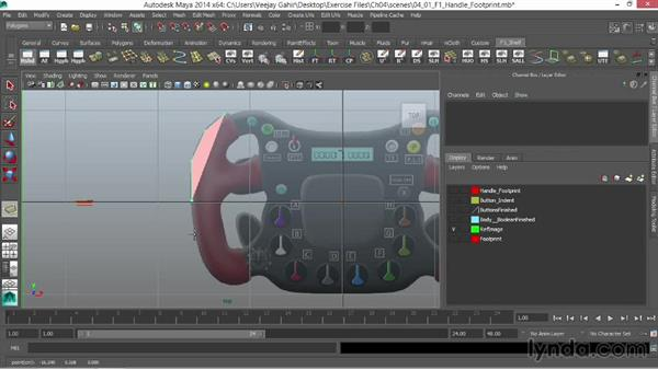 The main footprint: Modeling an F1 Wheel in Maya