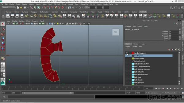 Creating quads: Modeling an F1 Wheel in Maya