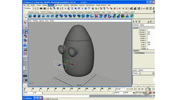 Building a Robot - Part 3 (Mouth): Maya 6.5 Essential Training