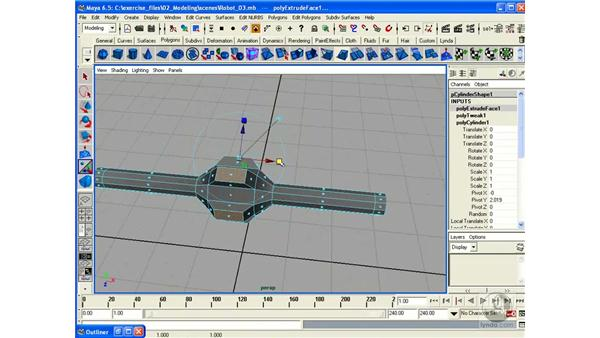 Building a Robot - Part 4 (Tire): Maya 6.5 Essential Training