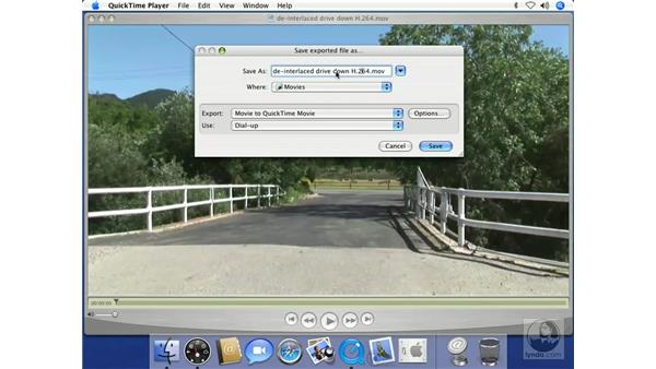 Exporting Video in QuickTime Pro: Mac OS X 10.4 Tiger Beyond the Basics