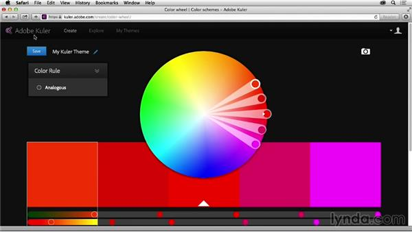 Challenge: Create a color theme: Graphic Design for Business Professionals