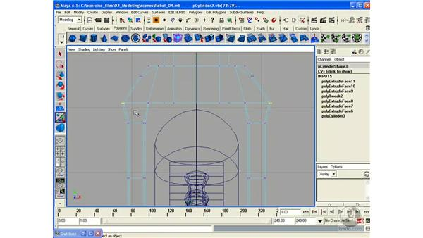 Building a Robot - Part 5 (Yoke): Maya 6.5 Essential Training