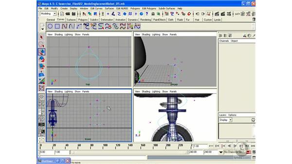 Building a Robot - Part 6 (Spring): Maya 6.5 Essential Training