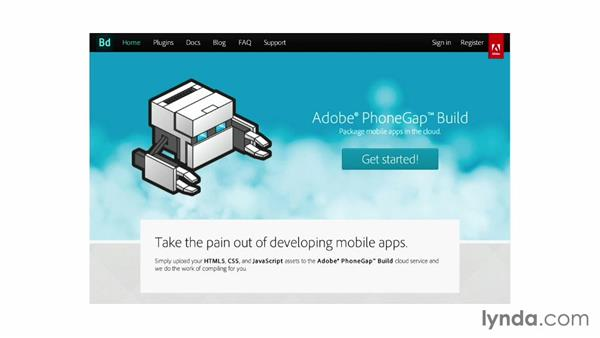 Welcome: Up and Running with PhoneGap Build