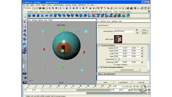 Projection Mapping: Maya 6.5 Essential Training